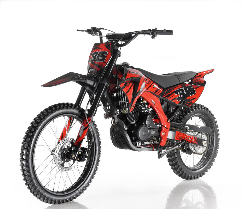Orion Apollo 250 RX 250cc dirt bike (#36)